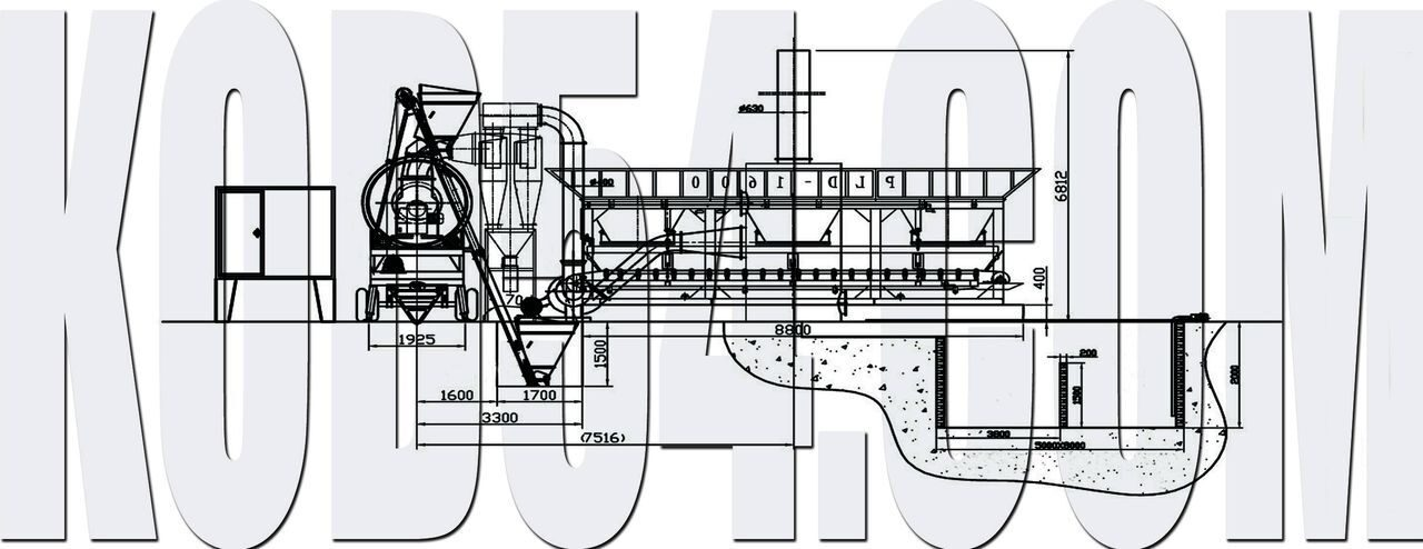 Схема расположения асфальтного