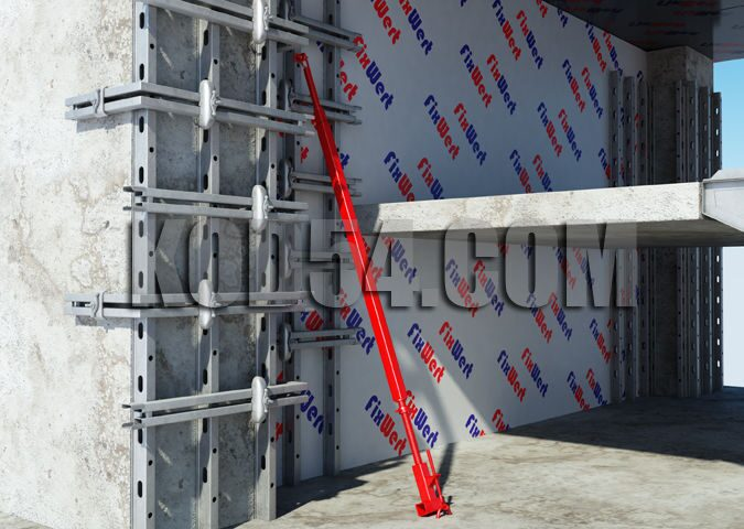 Вертикальная опалубка для стен